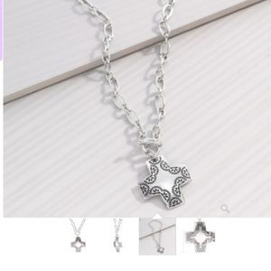Silpada Cross Pendant Necklace